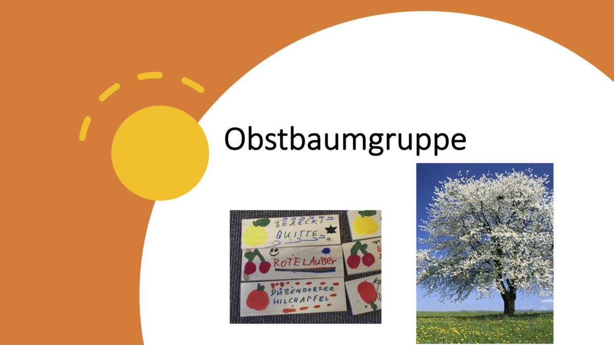 Obstbaumgruppe